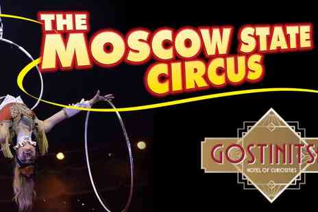 The European Events Corporation - Moscow State Circus in Mulitple Locations - Save 50%
