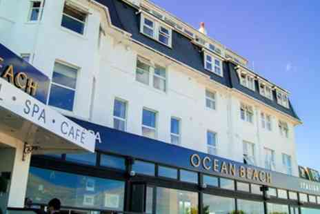 Ocean Beach Hotel and Spa - Two night Bournemouth stay with dinner - Save 40%