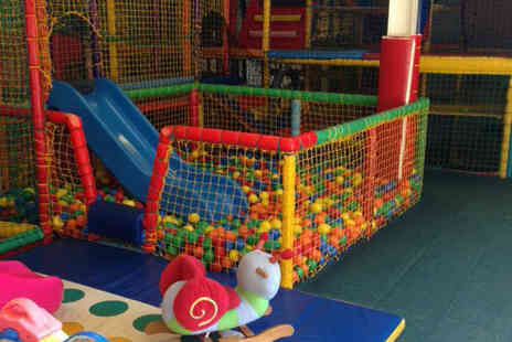 Kidzilla Play Centre - Entry for two children with a childrens pizza and drink each - Save 74%