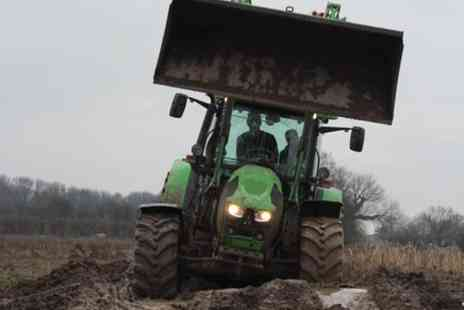 Blyth Activity Centre - Tractor Driving - Save 0%