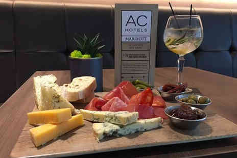 AC Hotel by Marriott - Six gin drinks with mixers plus a sharing platter for two people - Save 60%