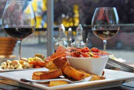 Itjl - Two or Three Course Meal with a Bottle of Wine to Share for Two or Four - Save 39%