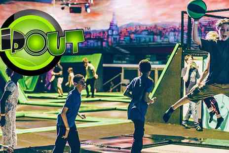 High Fly - Bounce Into Action at Flip Out Wandsworth, 2 Hours for the Price of 1 - Save 50%