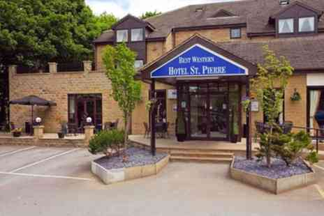 Best Western Hotels - Standard Double Room for Two with Breakfast and Option for Wine or Dinner - Save 0%