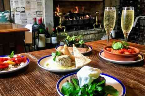 The White Swan - Tapas & bubbly for 2 at 2 AA Rosette foodie haven - Save 40%