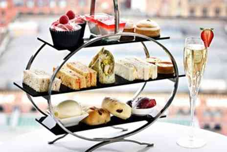 Hilton Manchester Deansgate - Afternoon tea & cocktails for 2 with Manchester views - Save 45%
