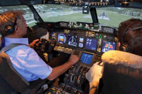 Flight Experience London - One hour flight simulator experience - Save 50%