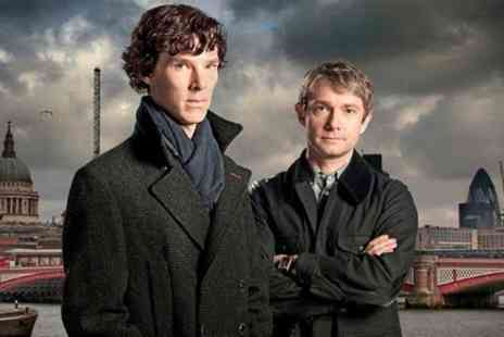 Brit Movie Tours - Private London 3 hour Sherlock Locations Tour by Black Taxi - Save 0%