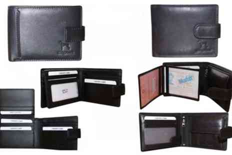 Groupon Goods Global GmbH - One or Two Mens Soft Leather Wallets - Save 77%