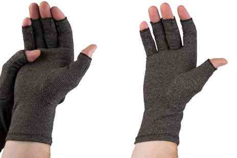 Groupon Goods Global GmbH - One or Two Pairs of Pro 11 Wellbeing Arthritis Gloves - Save 0%
