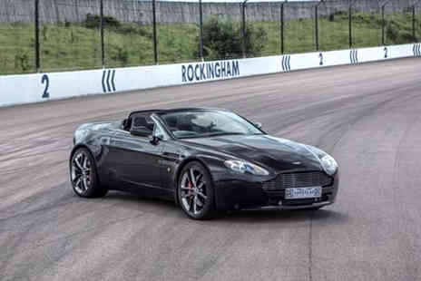 Supercar Drive Days - Three lap Aston Martin supercar experience with a Ferrari hot lap for one - Save 56%