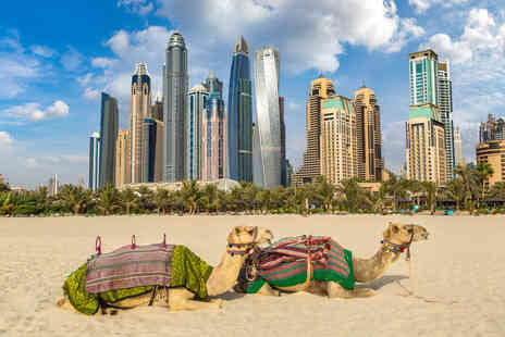 Great Pacific Travels - Three, five or seven night luxury 5 Star Dubai getaway with breakfast and flights - Save 28%