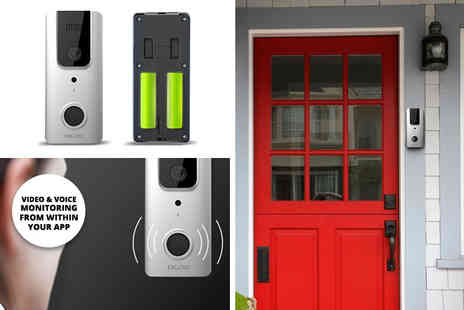 Maxwe - App controlled wireless HD 1080p video doorbell - Save 66%