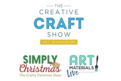 ICHF - The Creative Craft Show Ticket on 1 to 4 November - Save 42%