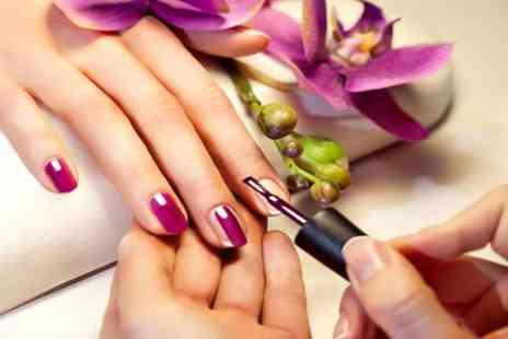 The Derbyshire Hotel Leisure Club - Luxury Manicure, Pedicure or Shellac on Hands and Feet with Full Day Spa Access - Save 60%