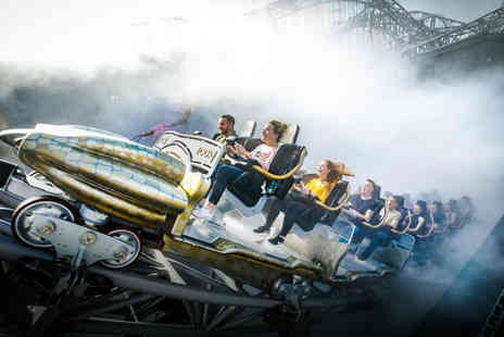 Blackpool Pleasure Beach - All day unlimited ride wristband - Save 0%