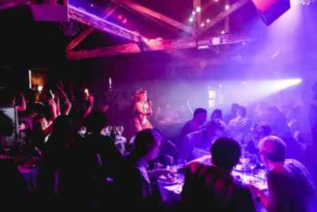 FEST Camden - Three Course Dinner, Cocktail, Cabaret Show, Shot and Club Entry for Up to Six - Save 47%