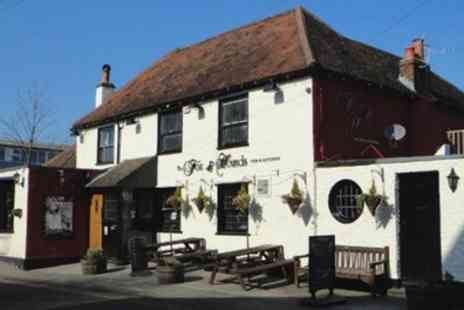 Fox & Hounds Pub - Two Course Meal with Glass of Wine for Two or Four - Save 47%