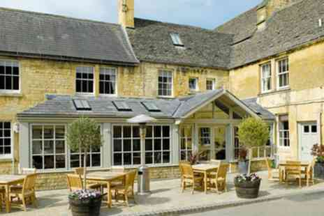Noel Arms Hotel - Classic Double Room for Two with Breakfast and Cream Tea - Save 41%
