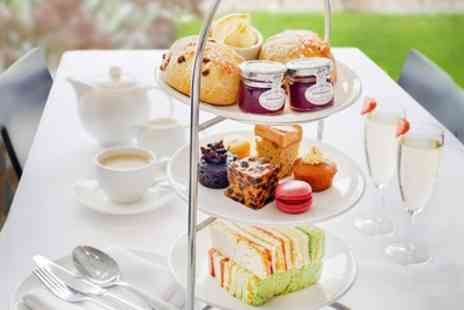 Hilton York - Traditional or Vegetarian Afternoon Tea with Optional Glass of Prosecco for Two or Four - Save 60%