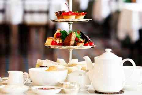 Hunday Manor Country House Hotel - Afternoon tea & bubbly for 2 at 18th century manor - Save 29%