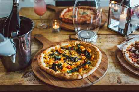 Craft & Dough - Pizza each for two people and a bottle of Prosecco to share - Save 60%