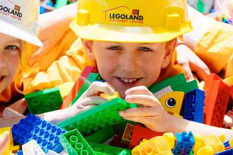 Superbreak - LEGOLAND Discovery Centre Birmingham with Overnight Hotel Family Stay - Save 0%