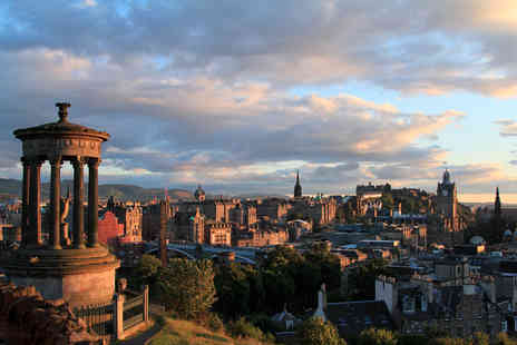 Edinburgh Thistle Hotel - One or two night stay for two people with continental breakfast - Save 41%