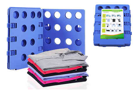 Maxwe - Adjustable flip & fold clothes folding board - Save 67%