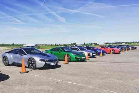 Supercar Test Drives - Three lap supercar experience on a weekday or weekend - Save 77%