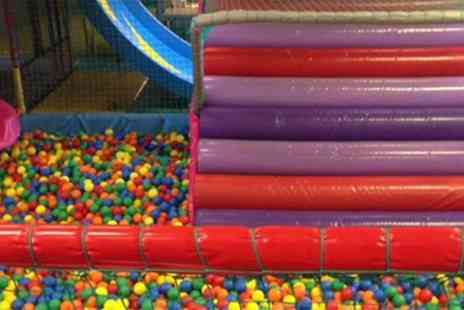 Kidzilla Play Centre - Soft Play Entry, Pizza and Drink for Up to Four Children - Save 47%