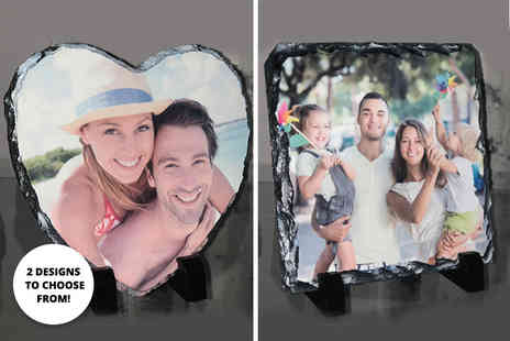 Deco Matters - Personalised photo slate - Save 60%