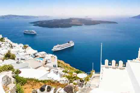 Hays Travel - Deluxe Seven night Santorini holiday including flights & breakfast - Save 0%