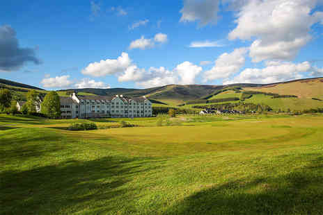 Macdonald Cardrona Hotel - Spa day for one or two including two 25 minute ELEMIS treatments, a glass of Prosecco and a £5 retail voucher - Save 35%