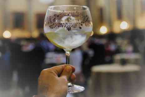 The Gin Society - One afternoon or evening entry with drink, booklet and glass to The Gin Society Festival on 28 September To 27 October - Save 32%