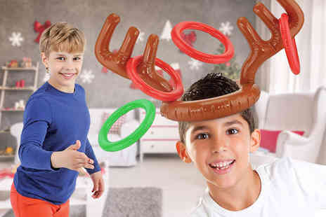 ViVo Technologies - Inflatable reindeer antler toss game - Save 78%
