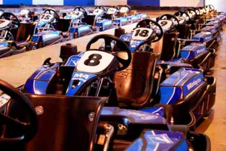 M4 Karting - 20 Minute Karting Experience for One, Two or Four - Save 50%