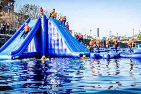 The Adventure Dock Co - One Hour Park Entry and Wetsuit Hire for Up to Four - Save 25%