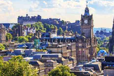 Super Break - Two night central Edinburgh stay with breakfast & dinner - Save 0%