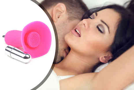 Femme Care Boutique - A power pro silicone heart shape vibrator pad - Save 80%