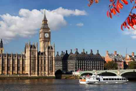 Circular Cruise Westminster - Circular Hop On Hop Off Cruise on the River Thames for Child or Adult - Save 44%