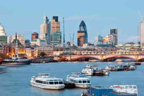 Thames River Services - One Adult or Child Return Ticket for Westminster Greenwich Boat Tour - Save 47%