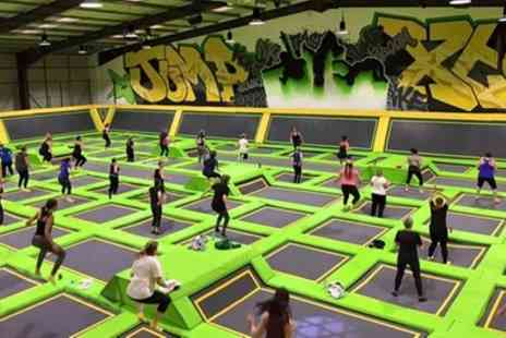 Jump Xtreme - One Hour Trampoline Jump Session for One, Two or Four - Save 35%