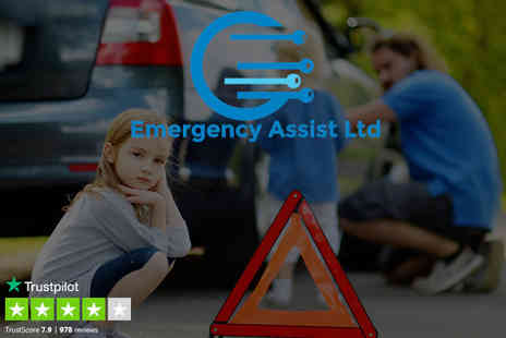 Emergency Assist - Premium one year UK breakdown cover - Save 66%