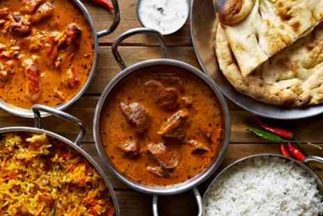 Bhaijaanz - Two Course Meal with Naan and Wine for Two or Four - Save 57%