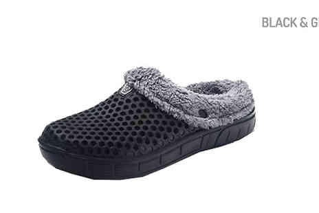 Buy Something - Indoor Unisex Thermal Slippers Choose 5 Colours - Save 57%