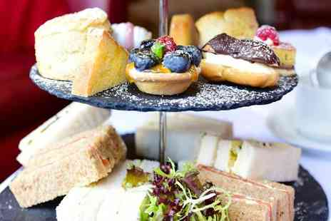 Donington Manor Hotel - Afternoon tea for two people with a glass of Prosecco each - Save 58%
