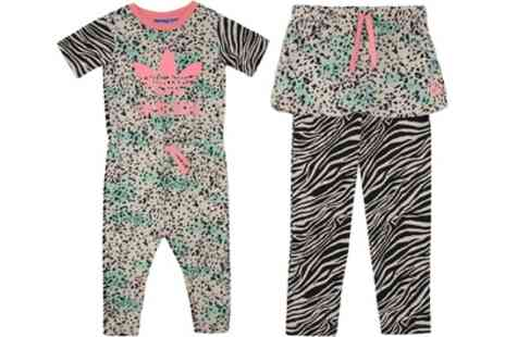 Groupon Goods Global GmbH - Adidas Wild and Free Childrens Jumpsuit or Leggings - Save 0%