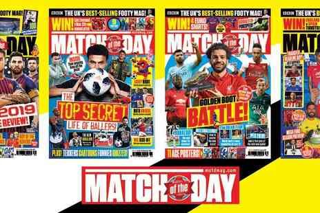 Match of the Day - Three Month Subscription to Match of the Day Magazine - Save 29%