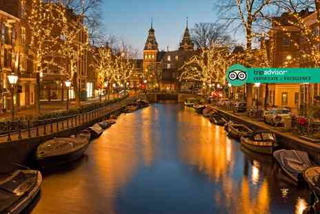 Weekender Breaks - Two or three night 4 Star Amsterdam spa break with return flights - Save 21%